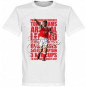 Arsenal T-shirt Legend Tony Adams Legend Vit XS
