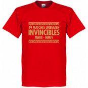 Arsenal T-shirt The Invincibles 49 Unbeaten Röd XS