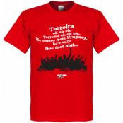 Arsenal T-shirt Torreira Chant Röd XS