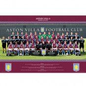 Aston Villa Affisch Squad 110