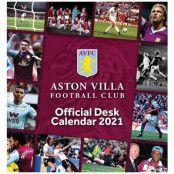 Aston Villa Skrivbordskalender 2021