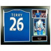 Chelsea Signerad Fotbollströja John Terry