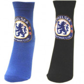 Chelsea strumpor 2-pack Junior 26-30 (UK 9-12)