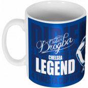Chelsea Mugg Legend Didier Drogba Blå