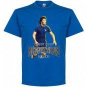 Chelsea T-shirt Micky Droy Hardman Blå S