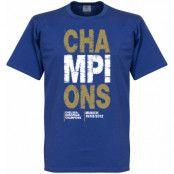 Chelsea T-shirt Winners 2012 Champions Blå S