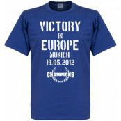 Chelsea T-shirt Winners 2012 Victory In Europe Blå M
