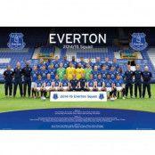 Everton Affisch Squad 34