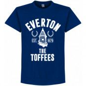 Everton T-shirt Established Blå S