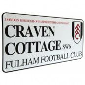 Fulham Gatuskylt Plåt
