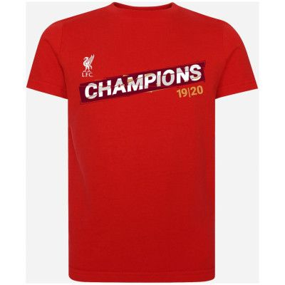 Liverpool T-shirt League Champions 19/20 Barn 7-8 år