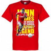 Liverpool T-shirt Legend John Barnes Legend Röd XS