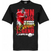 Liverpool T-shirt Legend John Barnes Legend Svart XS