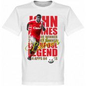 Liverpool T-shirt Legend John Barnes Legend Vit XS