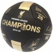 Liverpool Signerad Fotboll Premier League Champions PH
