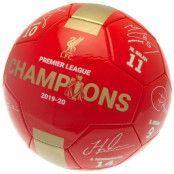 Liverpool Signerad Fotboll Premier League RG