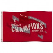 Liverpool Flagga Champions Of Europe