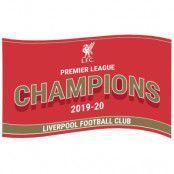 Liverpool Flagga Premier League Champions