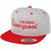 Keps Liverpool Grey/Red Snapback - Forza
