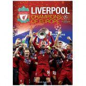 Liverpool Årsbok Champions of Europe