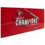 Liverpool Vägskylt Champions Of Europe