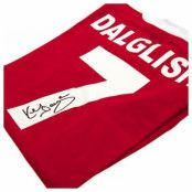 Liverpool Signerad Matchtröja Dalglish