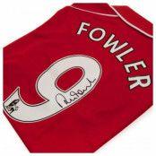 Liverpool Signerad Matchtröja Fowler