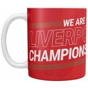 Liverpool League Champions Mugg