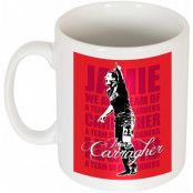 Liverpool Mugg Jamie Carragher Legend Vit