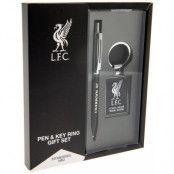 Liverpool Penna & Nyckelring Set