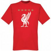 Liverpool T-shirt 5 Star Tee Röd XS