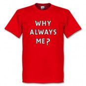 Liverpool T-shirt Balotelli Why Always Me S