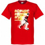 Liverpool T-shirt Coutinho Philippe Coutinho Röd XS