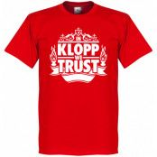 Liverpool T-shirt In Klopp We Trust Röd XS
