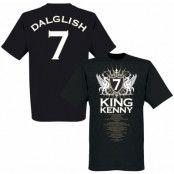 Liverpool T-shirt King Kenny No7 Kenny Dalglish Svart XS