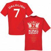 Liverpool T-shirt King Kenny No7 Röd XS