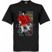 Liverpool T-shirt Legend Tommy Smith Legend Svart XS