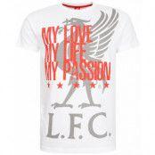 Liverpool T-shirt My Love Vit XS