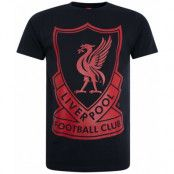 Liverpool T-shirt Vintage Mörkblå XS