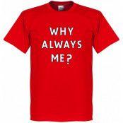 Liverpool T-shirt Why Always Me Mario Balotelli Röd XS