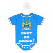 Manchester City Skylt Tröja Baby On Board