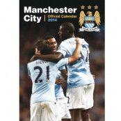 Manchester City Väggkalender 2014