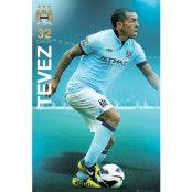 Manchester City Affisch Tevez 81