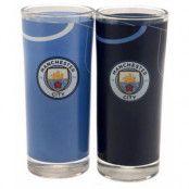 Manchester City Glas High Ball 2-pack