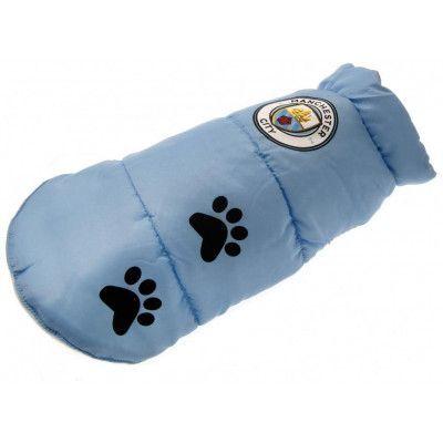Manchester City Jacka för Hundar Medium