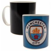 Manchester City Mugg Heat Changing GR