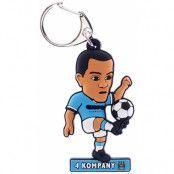 Manchester City Nyckelring Kompany