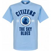 Manchester City T-shirt City Established Ljusblå XS