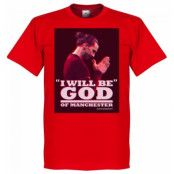 Manchester United T-shirt Zlatan God Barn Röd 4 år