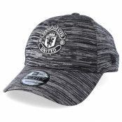 Keps Manchester United Engineered 9Forty Grey/Black Snapback - New Era - Grå Reglerbar